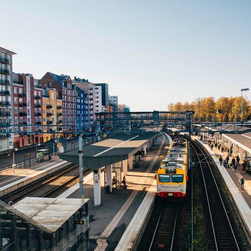 Travel to and in Växjö